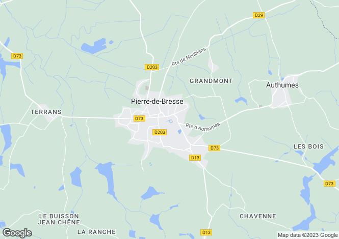 Map for PIERRE DE BRESSE, SAONE ET LOIRE