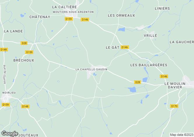 Map for la-chapelle-gaudin, , France