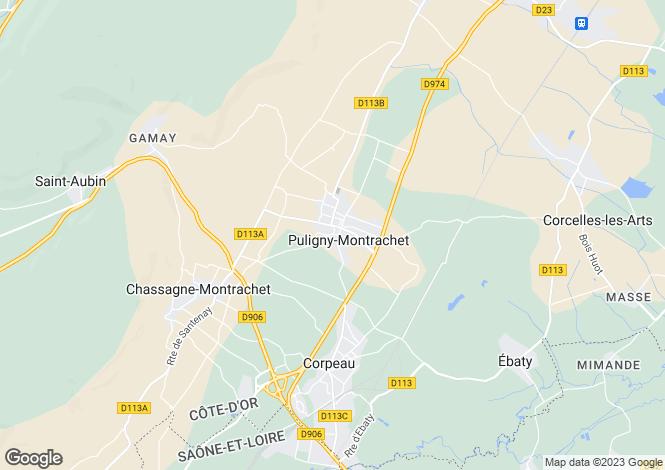 Map for Place Des Marronniers, Puligny-Montrachet
