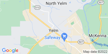 Yelm Gutter Cleaning map