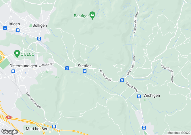 Map for Bern