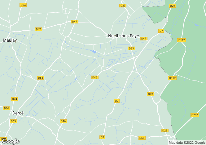 Map for nueil-sous-faye, Vienne, France