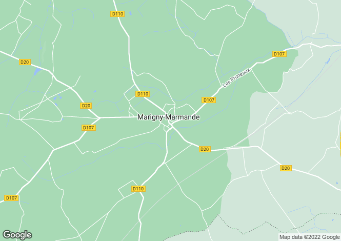 Map for marigny-marmande, Indre-et-Loire, France