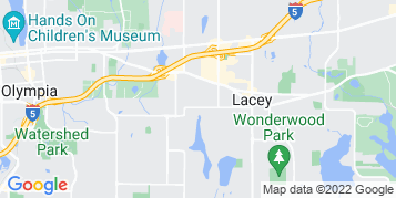 Lacey Window Cleaning map