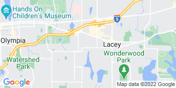 Lacey Pressure Washing map