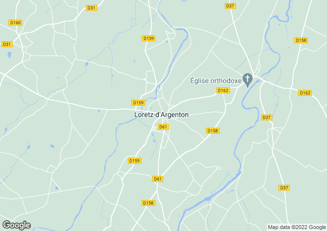 Map for argenton-l-eglise, Deux-Sèvres, France
