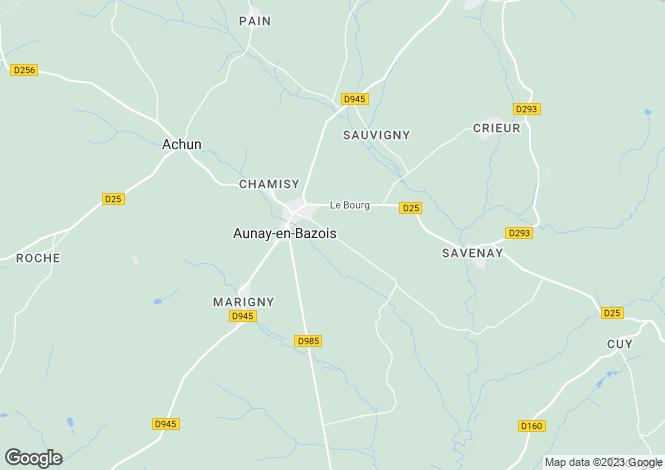 Map for Mont-Et-Marre, Bourgogne, 58110, France