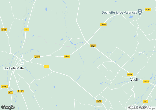 Map for lucay-le-male, Indre, France