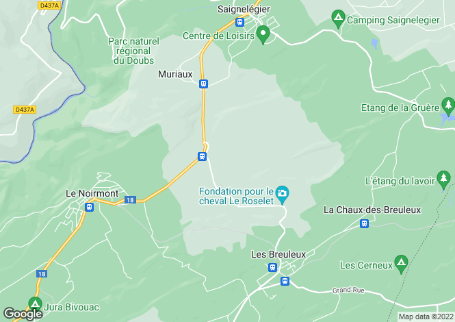 Map for Jura