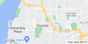 Fircrest Pressure Washing map