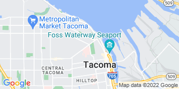 Tacoma Roof Cleaning map