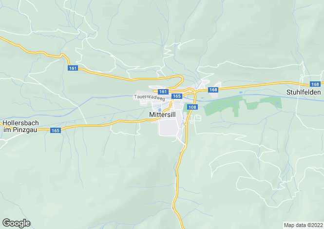 Map for Mittersill, Austria