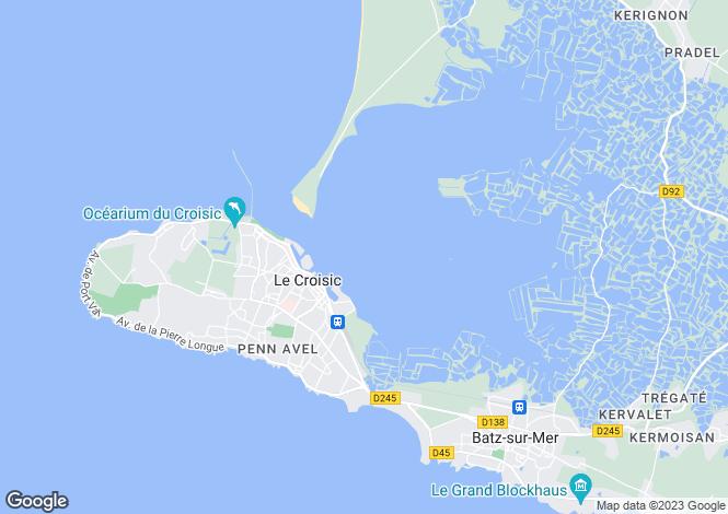 Map for le-croisic, Loire-Atlantique, France