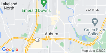 Auburn Window Cleaning map