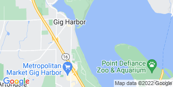 Gig Harbor Roof Cleaning map