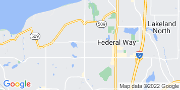 Federal Way Roof Cleaning map