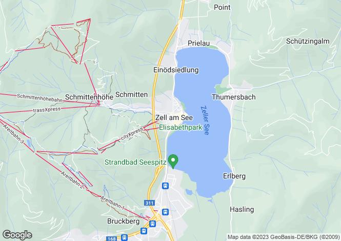 Map for Eder Park, Zell Am See, Salzburgerland