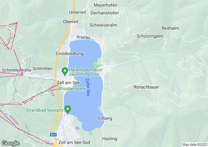 Map for 5700, Zell am See, Austria