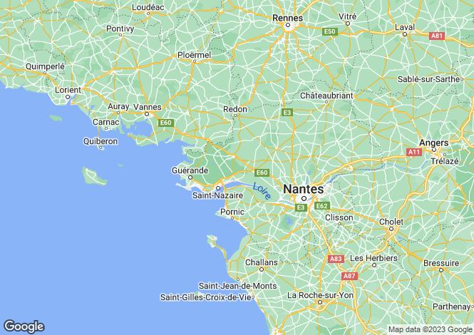 Map for besle-sur-vilaine, Loire-Atlantique, France