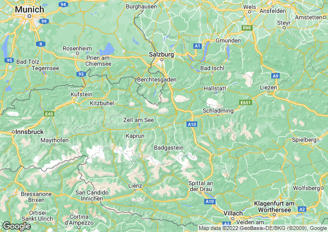 Map for 5741, Neukirchen, Austria