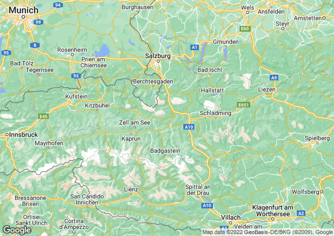 Map for 5700, Zell am Seee, Austria