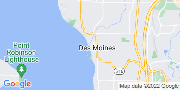 Des Moines Gutter Cleaning map