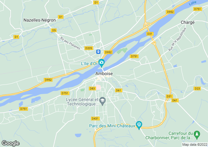 Map for Tours, Centre, 37400, France