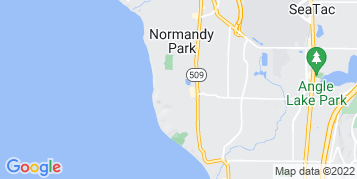 Normandy Park Pressure Washing map