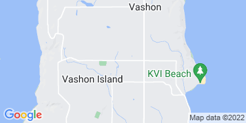 Vashon Gutter Cleaning map