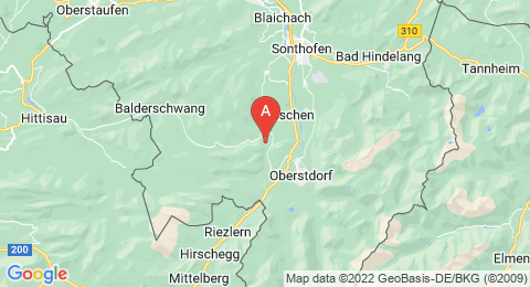 map of Sturmann's Cave (Germany)