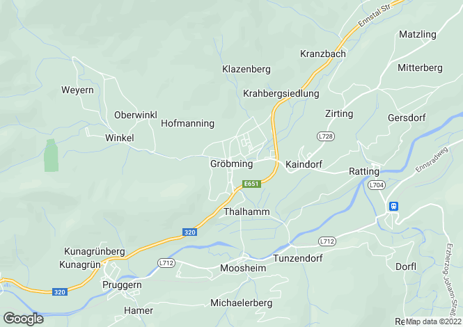 Map for Steiermark, Liezen, Gröbming, Austria