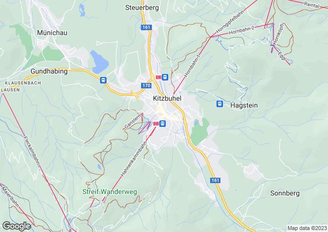 Map for Chalet Fountainfield, Reith, Near Kitzbuhel, Austria