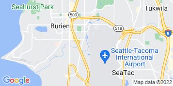 SeaTac Pressure Washing map