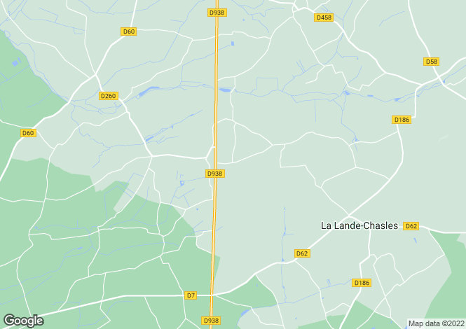 Map for CUON, 49150, France