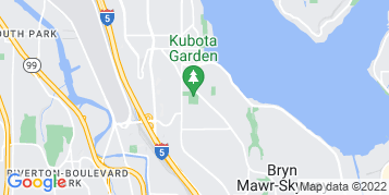 Rainier Beach Roof Cleaning map