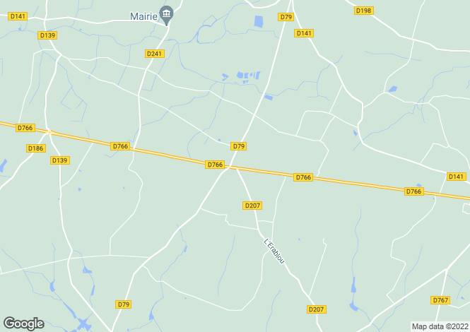 Map for auverse, Maine-et-Loire, France