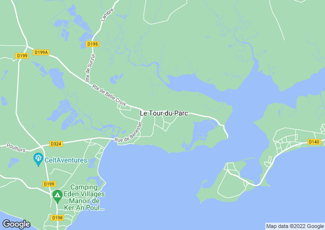 Map for le-tour-du-parc, Morbihan, France