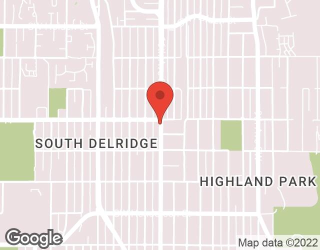 Highland Park map