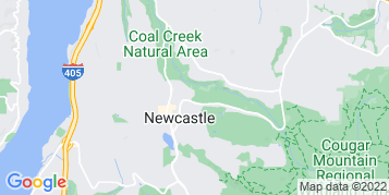 Newcastle Bird Control map