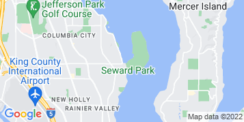Seward Park Window Cleaning map