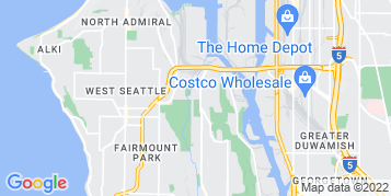 West Seattle Roof Cleaning map