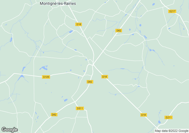 Map for Cheviré-le-Rouge, 49150, France