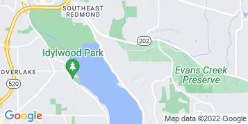 Sammamish Gutter Cleaning map