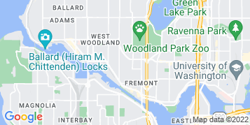 Fremont Pressure Washing map