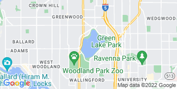 Green Lake Pressure Washing map