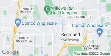 Redmond Bird Control map