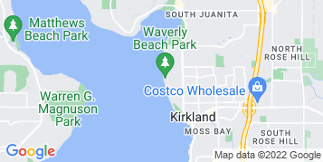 Kirkland Window Cleaning map