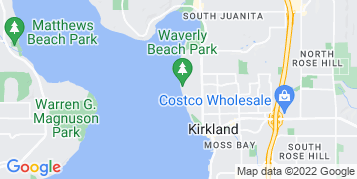 Kirkland Roof Cleaning map