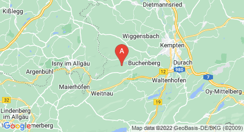 map of Hohenkapf (Germany)