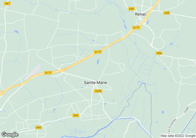 Map for ste-marie, Ille-et-Vilaine, France